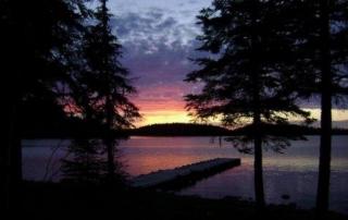Sunset Lodge on Red Lake