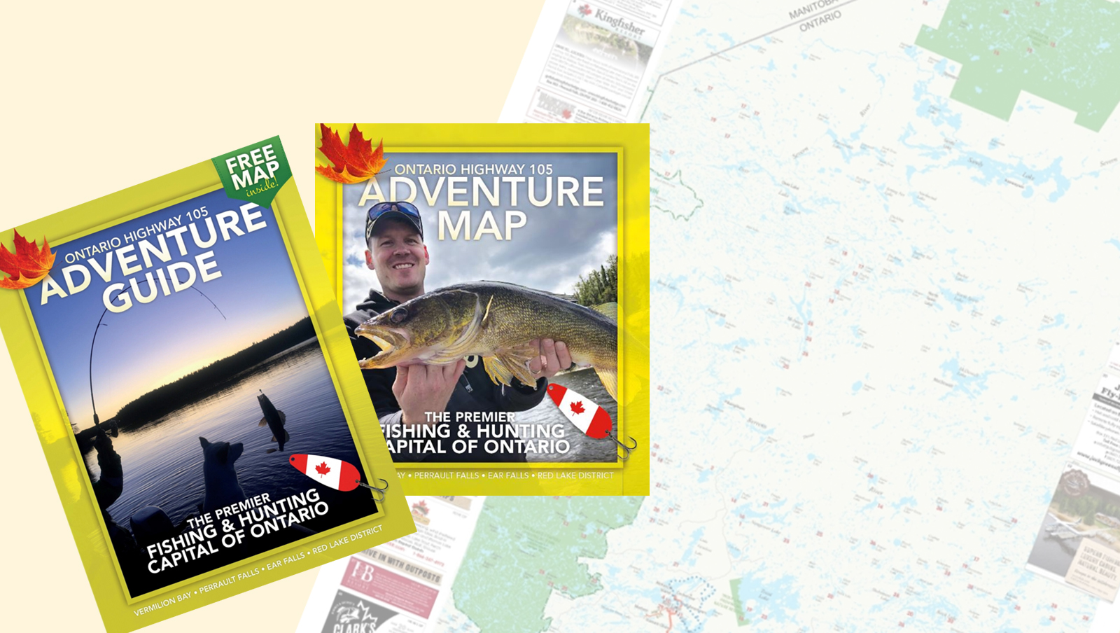 Hwy105 Free Map and Guide